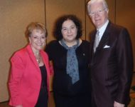 With Mary Manin Morrissey and Bob Proctor